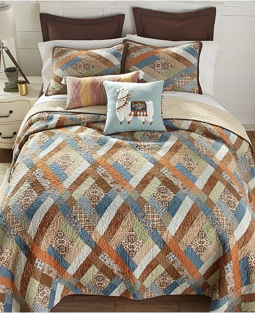 American Heritage Textiles Sienna Cotton Quilt Collection, Twin