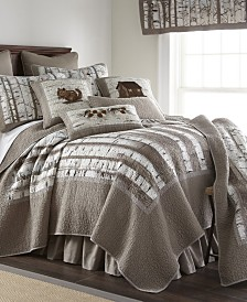 Birch Forest Cotton Quilt Collection, King