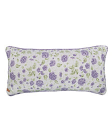 Lavender Rose Rectangle Decorative Pillow