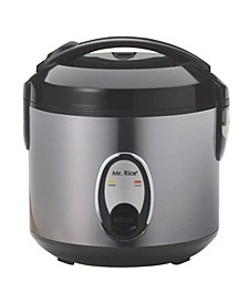 SPT 4-Cups Rice Cooker with Stainless Body