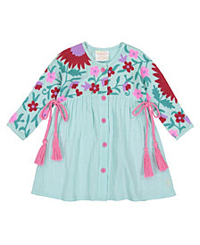 Masala Baby Girls Organic Cotton Baby Aasha Dress