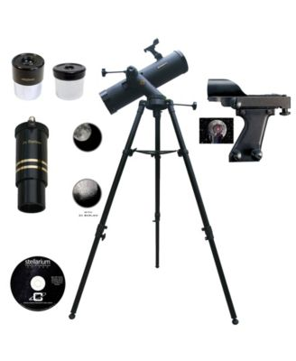 Cassini 640 X 102mm Tracker Mount Astronomical Telescope and Red Dot Finderscope