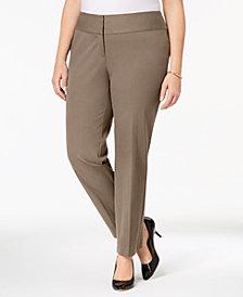 Alfani Plus & Petite Plus Size Slim Pants, Created for Macy's