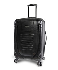 "Perry Ellis Bauer 21"" Spinner Suitcase"