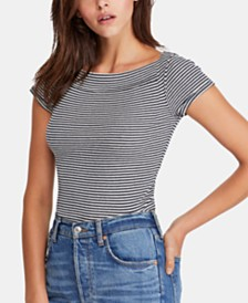 Free People Ahoy Striped T-Shirt