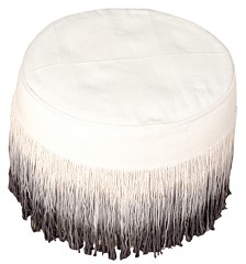 Sophisticated Ombre Pouf