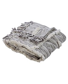 LR Home Line work Decorative Throw Blanket