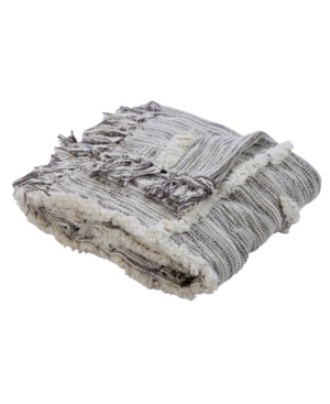 Image of Lr Home Line work Decorative Throw Blanket