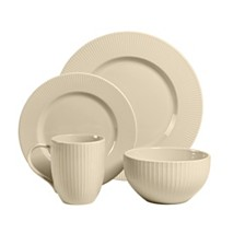 Over and Back Linea 16 Piece Dinnerware Set