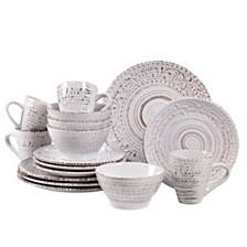 Over and Back Alexandria 16Pc Dinnerware Set