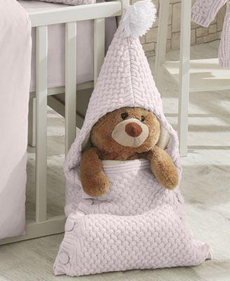 Plushy Knitted Baby Sleep Bag Blanket