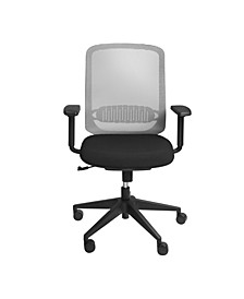 Isaac Low Back Office Chair with Nylon Base
