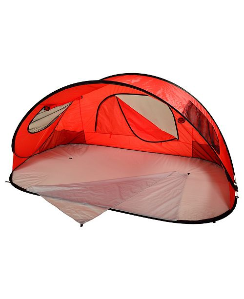 Picnic At Ascot Extra Large Instant Easy Beach Tent Sun Shelter with Carrier