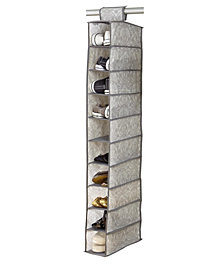 Laura Ashley 10 Shelf Shoe Organizer in Almeida
