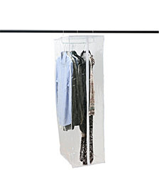 Simplify Crystal Clear Hanging Garment Closet