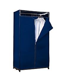 """36"""" Wide Portable Closet in Black"""