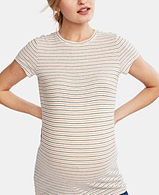 Maternity Crew-Neck T-Shirt