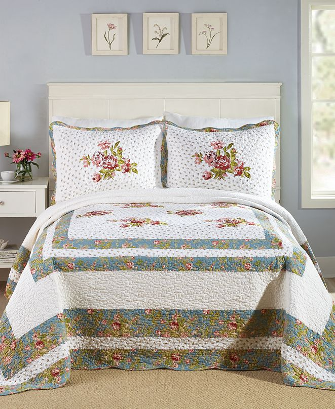 PEKING HANDICRAFT INC Loretta Full Bedspread