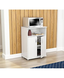Inval America Microwave Cabinet