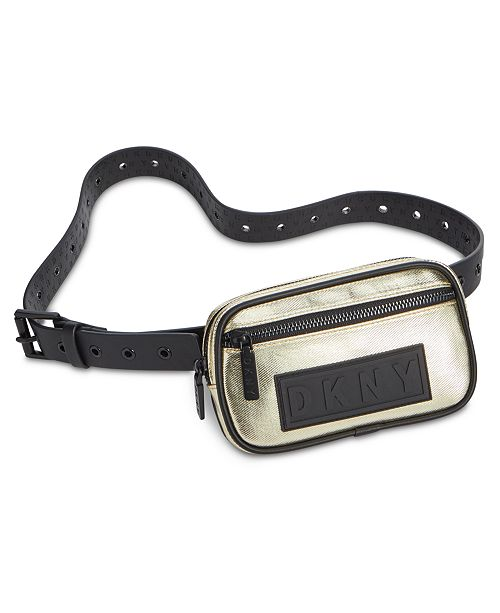 DKNY Coated Twill Belt Bag, Created for Macy's