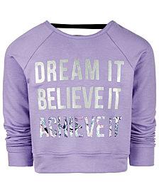 Ideology Little Girls Dream It Graphic Sweatshirt, Created for Macy's