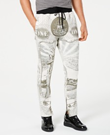 Reason Men's Currency Graphic Track Pants