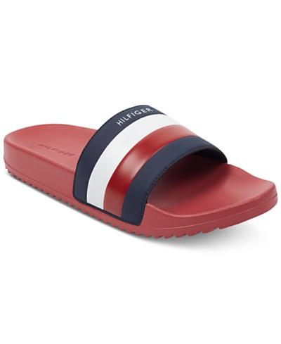 20e2f4ec8 Tommy Hilfiger Men's Rox Slide Sandals