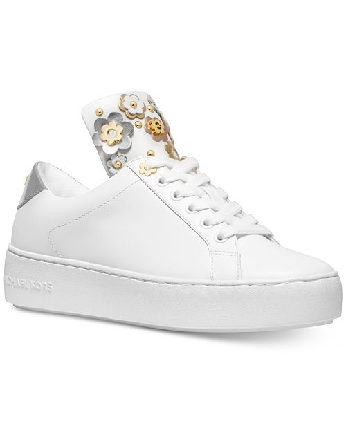 ade821140f8 Michael Kors Mindy Lace-Up Sneakers & Reviews - Athletic Shoes ...