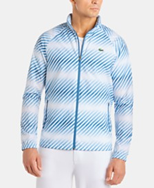 Lacoste Men's Stripe Windbreaker