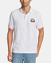 b9fdda74c Nautica Men's Blue Sail Classic-Fit Moisture-Wicking Embroidered Logo Polo,  Created for
