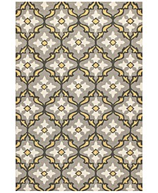"CLOSEOUT! Harbor Mosaic 7'6"" x 9'6"" Indoor/Outdoor Area Rug"