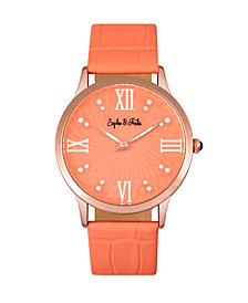 Sophie and Freda Quartz Sonoma Genuine Leather Watches 36mm