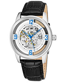 Stuhrling Original Men's Dress Skeletonized Automatic Watch