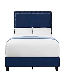 Emery Upholstered Full Platform Bed