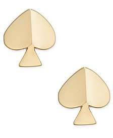 Gold-Tone Spade Extra Small Stud Earring