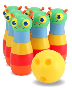 Melissa and Doug Kids Toy, Happy Giddy Bowling Set 675156