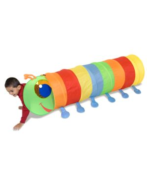 Melissa and Doug Kids Toy, Happy Giddy Tunnel