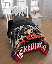 The Incredibles Racing Twin Quilt