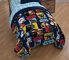 Galactic Grid Full Comforter