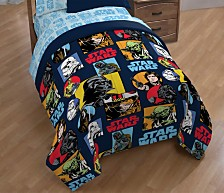 Star Wars Galactic Grid Full Comforter