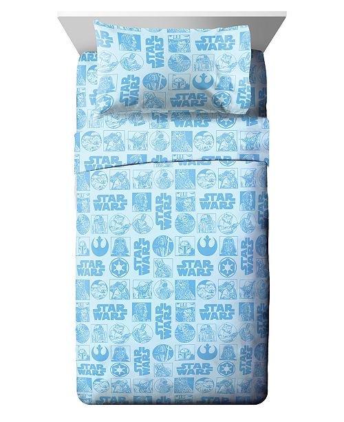 Star Wars 4 Piece Full Sheet Set