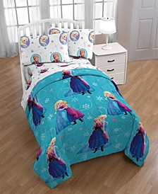 Frozen Swirl Twin Comforter