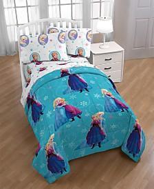 Disney Frozen Swirl Twin Comforter