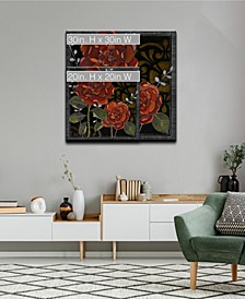 Flora Petals II Floral Canvas Wall Art Collection