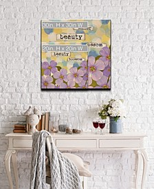 Confirmation I Floral Canvas Wall Art Collection