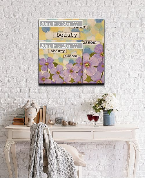 Ready2HangArt Confirmation I Floral Canvas Wall Art Collection
