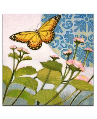 "'Flying II' Nature Canvas Wall Art - 20"" x 20"""