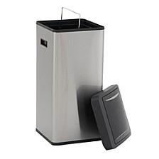 Stainless Steel 30L Harbour Square Trash Can
