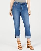 b1837f686dd Style   Co Curvy-Fit Capri Jeans