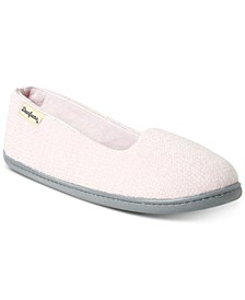 Women's Rebecca Chenille Closed Back Slipper, Online Only